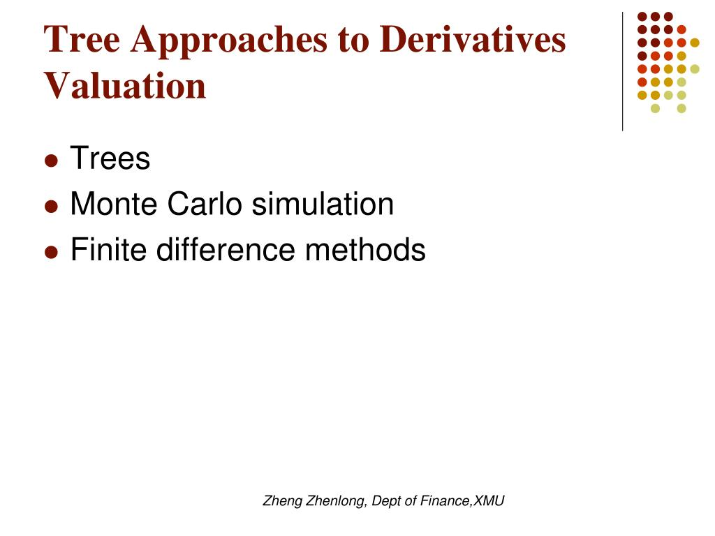Tree Approaches to Derivatives Valuation