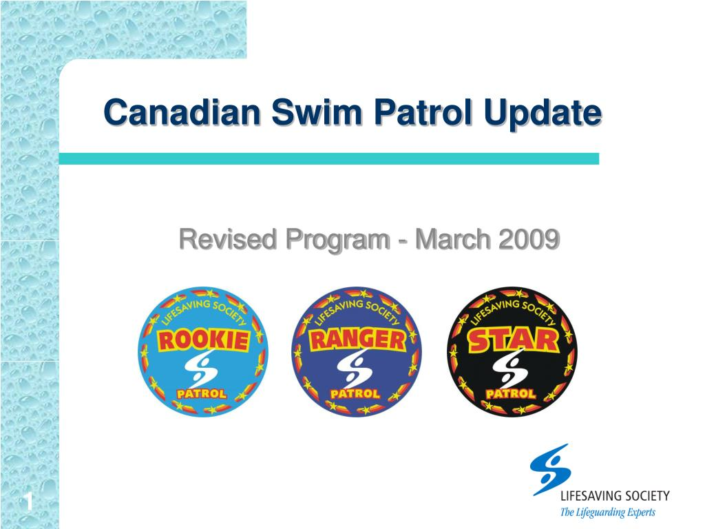 canadian swim patrol update l.