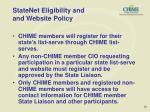 statenet eligibility and and website policy12