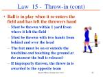 law 15 throw in cont37