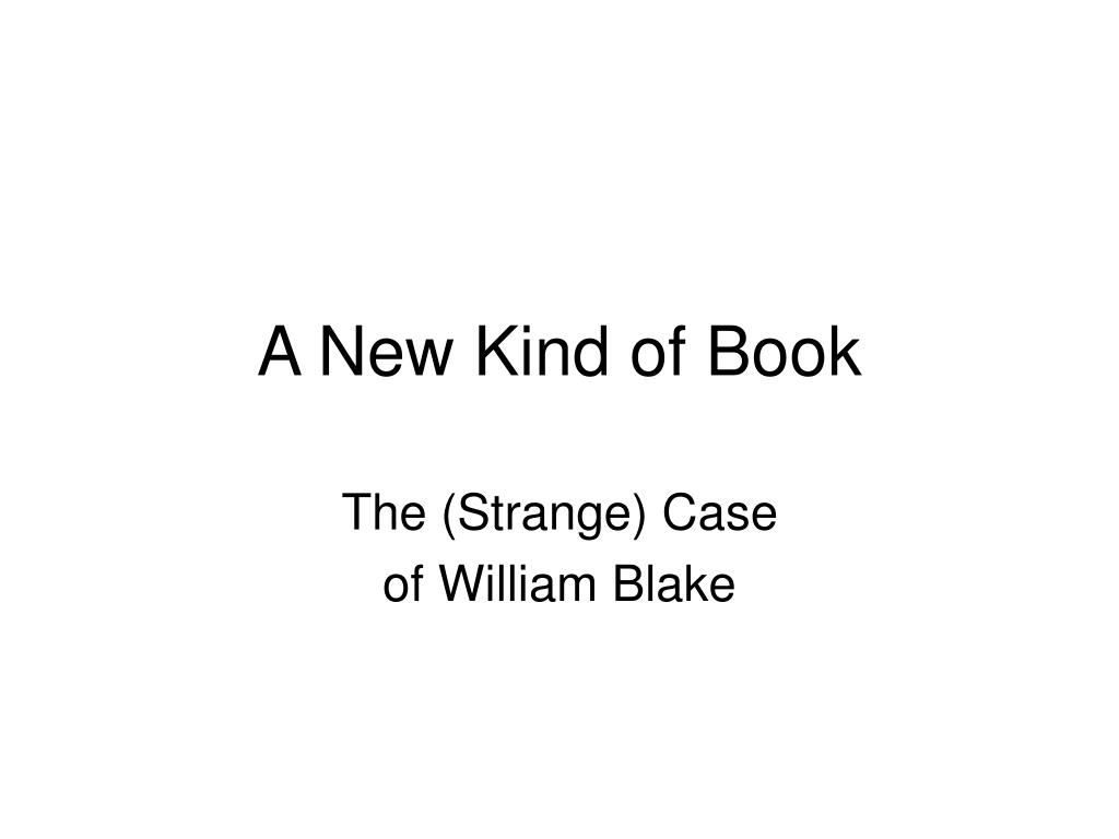a new kind of book l.