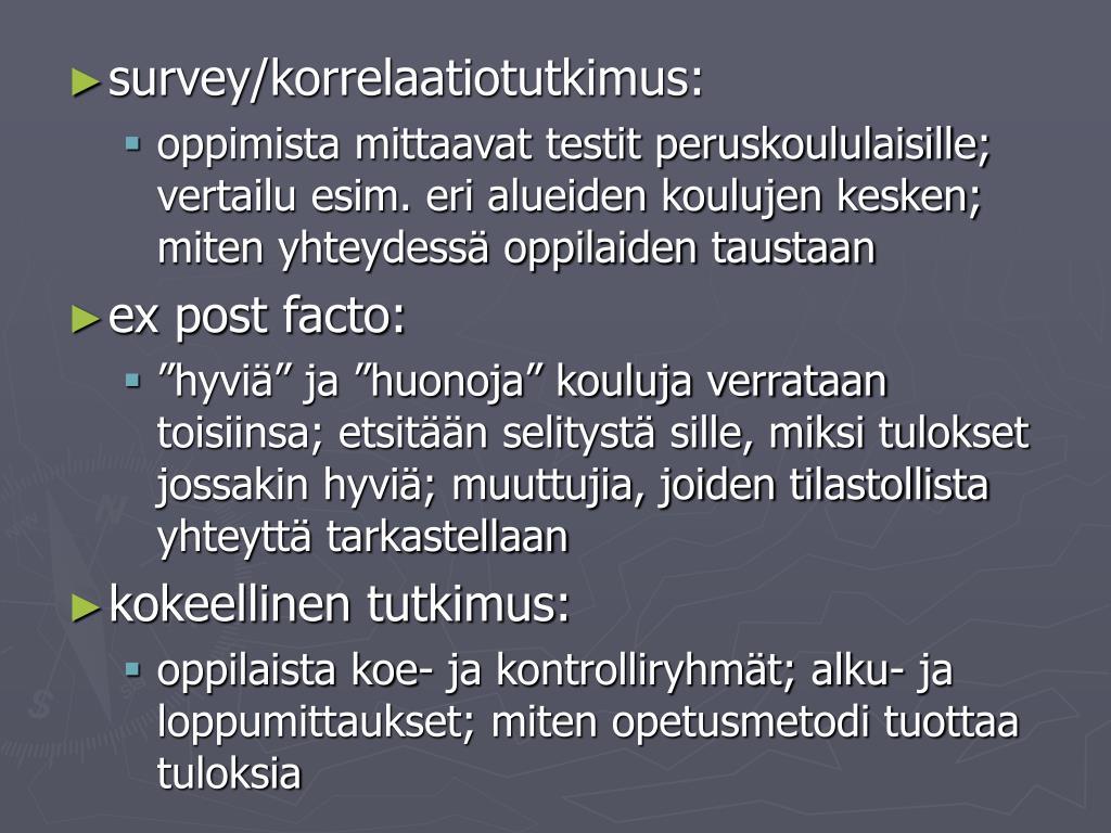 Korrelaatiotutkimus