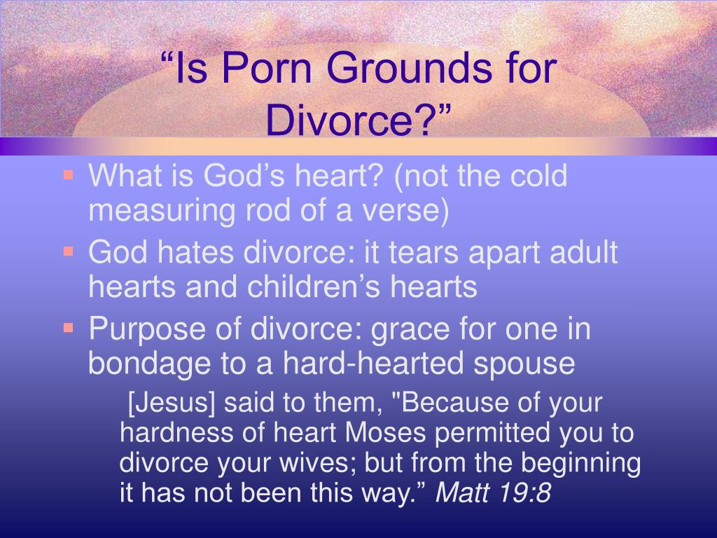 """Is Porn Grounds for Divorce?"""