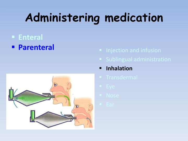 parenteral medication Study flashcards on parenteral medications at cramcom quickly memorize the terms, phrases and much more cramcom makes it easy to get the grade you want.