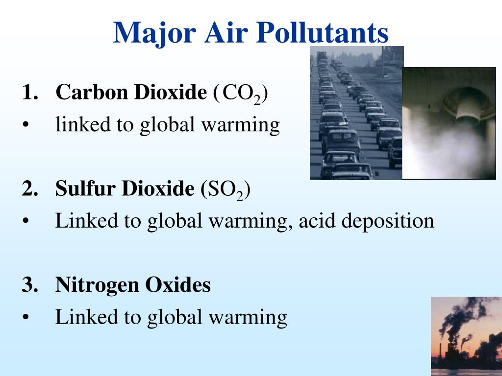 Major Air Pollutants