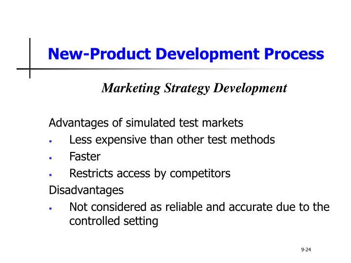 test marketing advantages