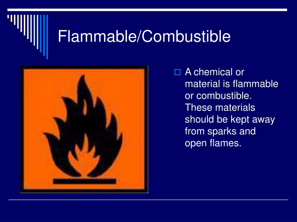 Flammable/Combustible