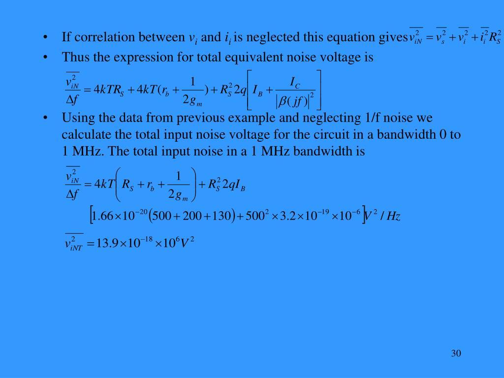 If correlation between