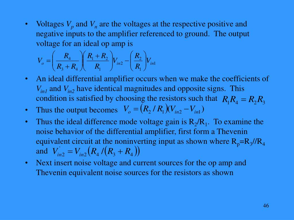 Voltages