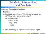 2 1 gain attenuation and decibels14