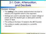 2 1 gain attenuation and decibels15