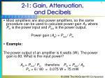 2 1 gain attenuation and decibels6