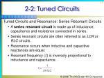 2 2 tuned circuits31