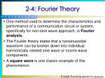 2 4 fourier theory