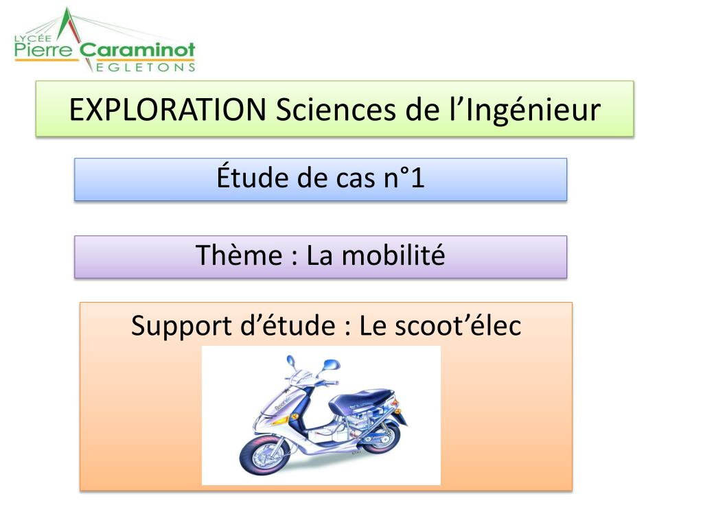 exploration sciences de l ing nieur l.