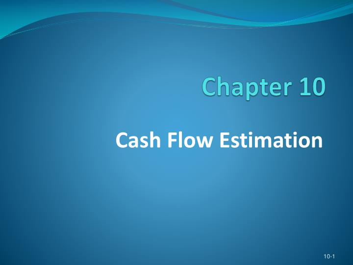 indian river citrus chapter 12 cash flow estimation A shrimp aquaculture investment by grapefruit producers in the indian river production region of florida: 4-4 cdf of net present value of cash flows.