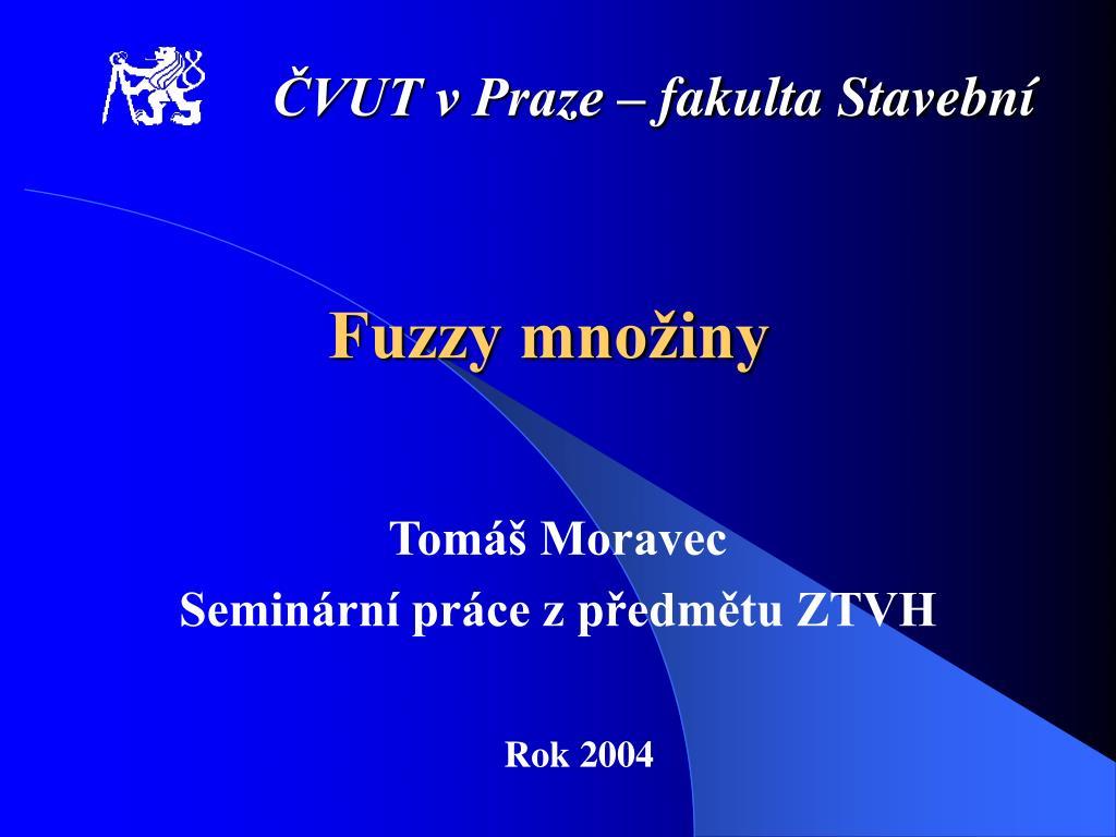 ČVUT v Praze – fakulta Stavební