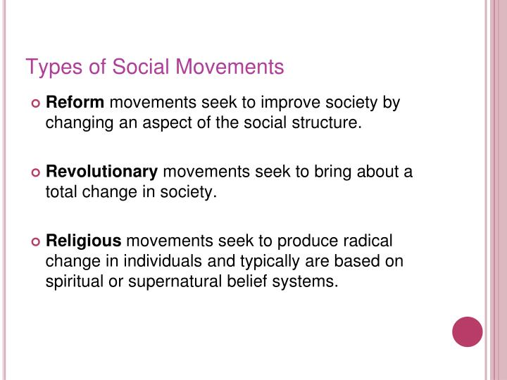 Types of Social Movements
