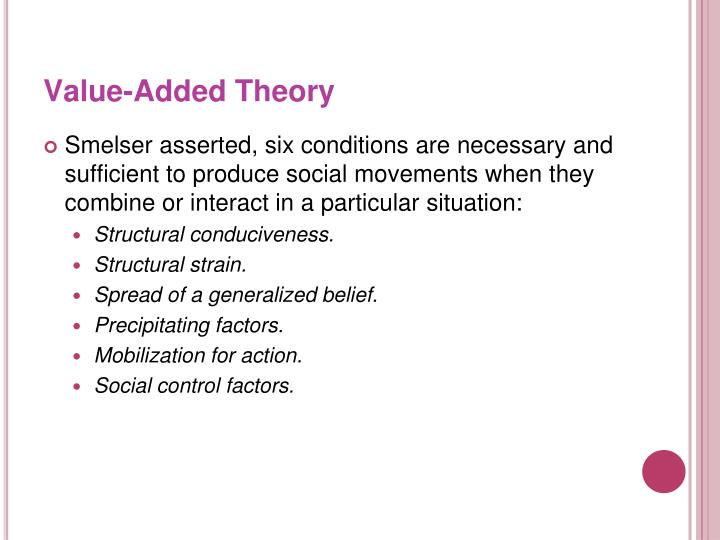 Value-Added Theory