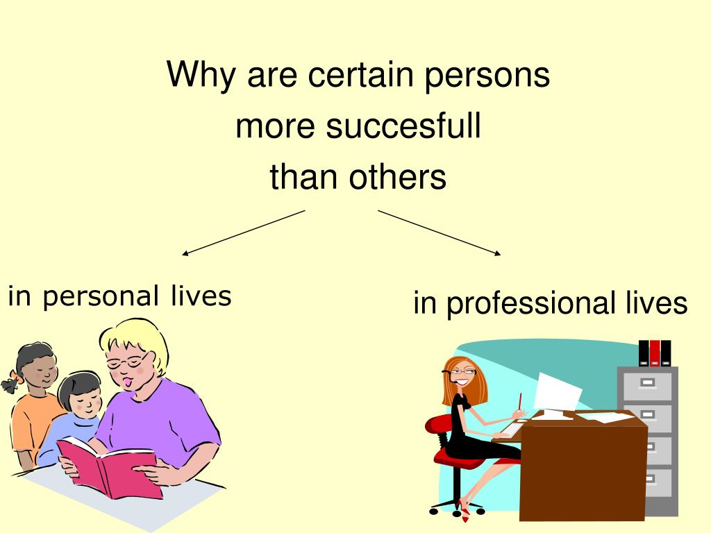 Why are certain persons