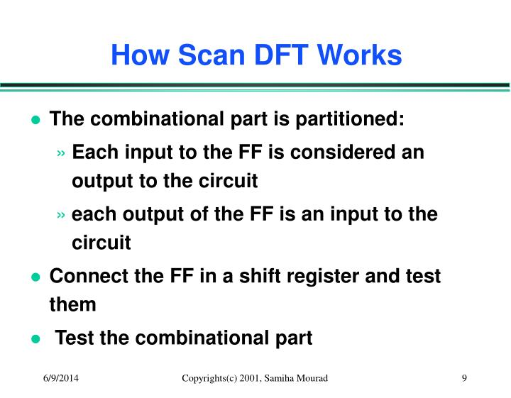 How Scan DFT Works