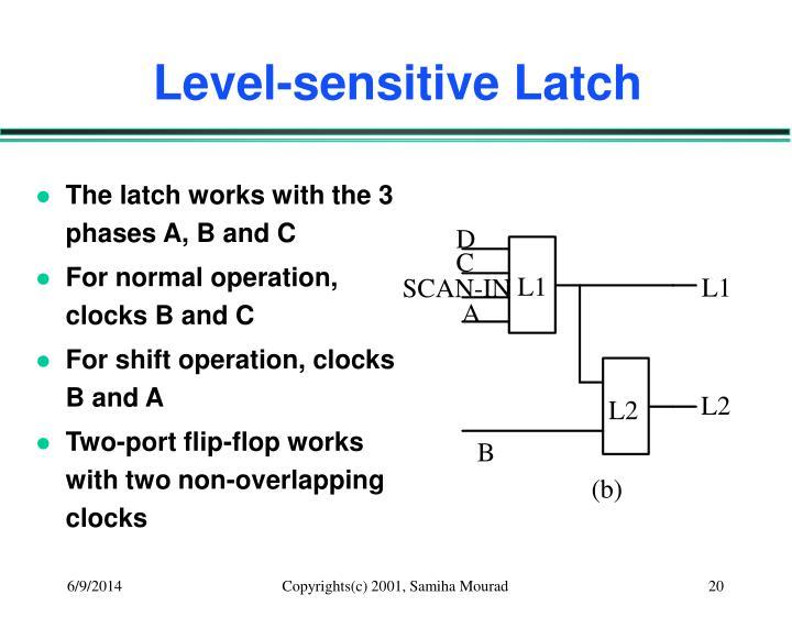 Level-sensitive Latch