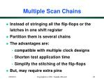 multiple scan chains