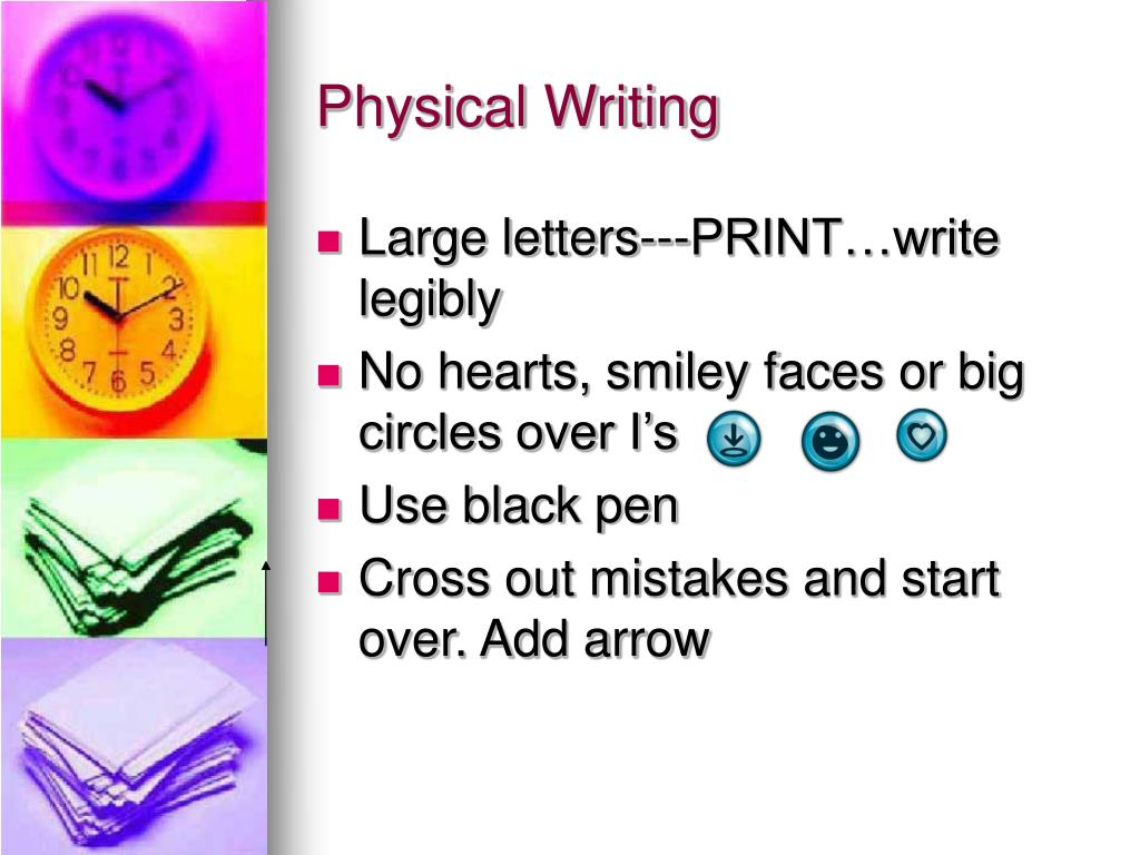 Physical Writing