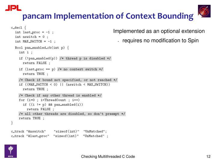 Checking Multithreaded C Code