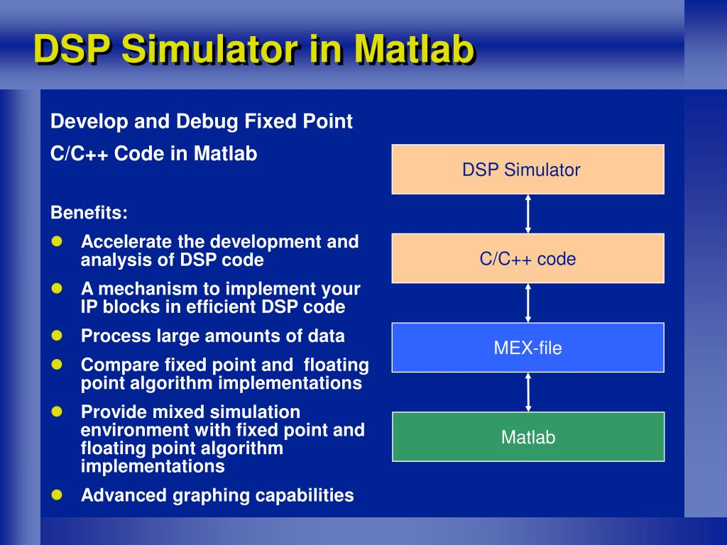 PPT - Matlab Extensions for the Development, Testing and