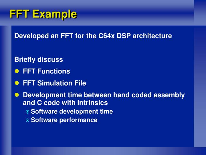 FFT Example