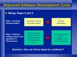 improved software development cycle