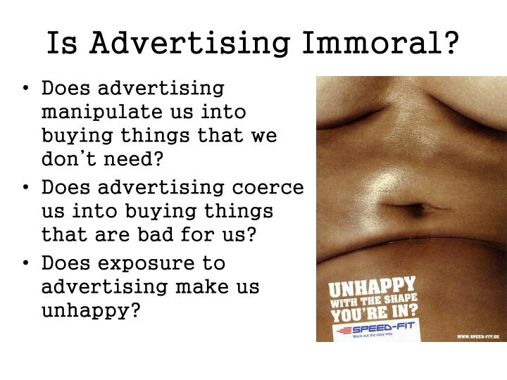 essay about advertising is manipulation or information Manipulation in advertising related to the concept of deficit, mainly relating to luxury goods (cars, jewelry) manipulation in advertising is often associated with the price of goods for example, the high price is an indicator of quality.