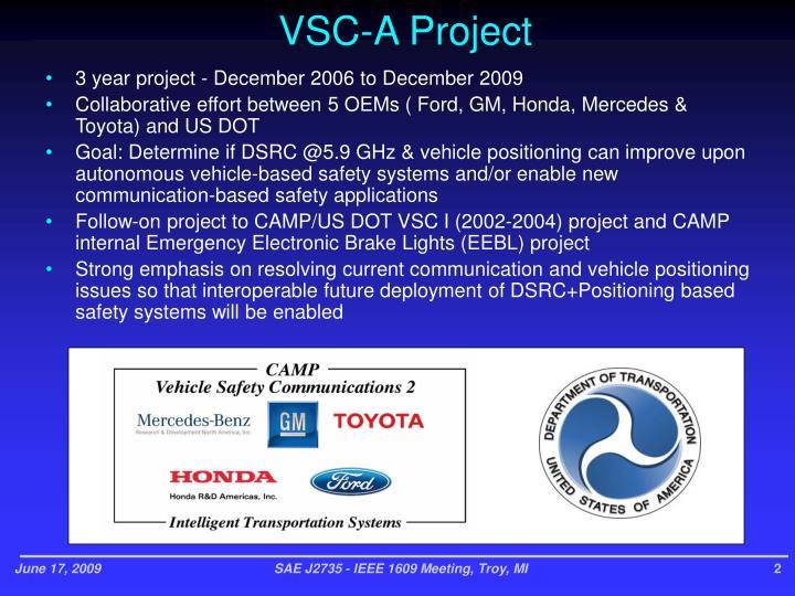 Vsc a project