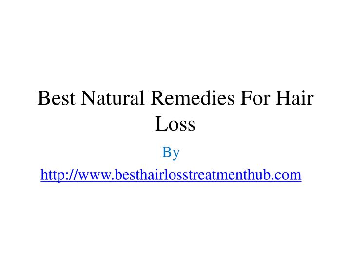 best natural remedies for hair loss n.