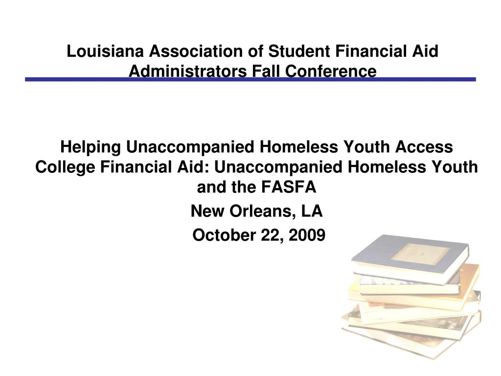 louisiana association of student financial aid administrators fall conference l.