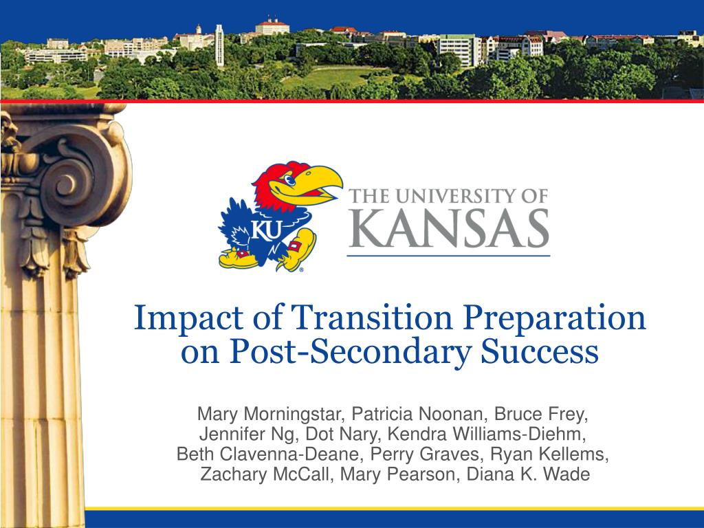 impact of transition preparation on post secondary success l.