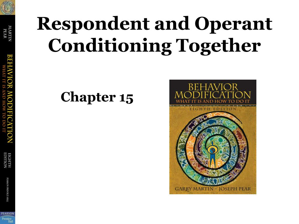 respondent and operant conditioning together l.