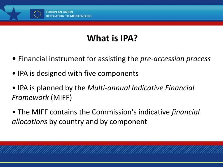 What is IPA?