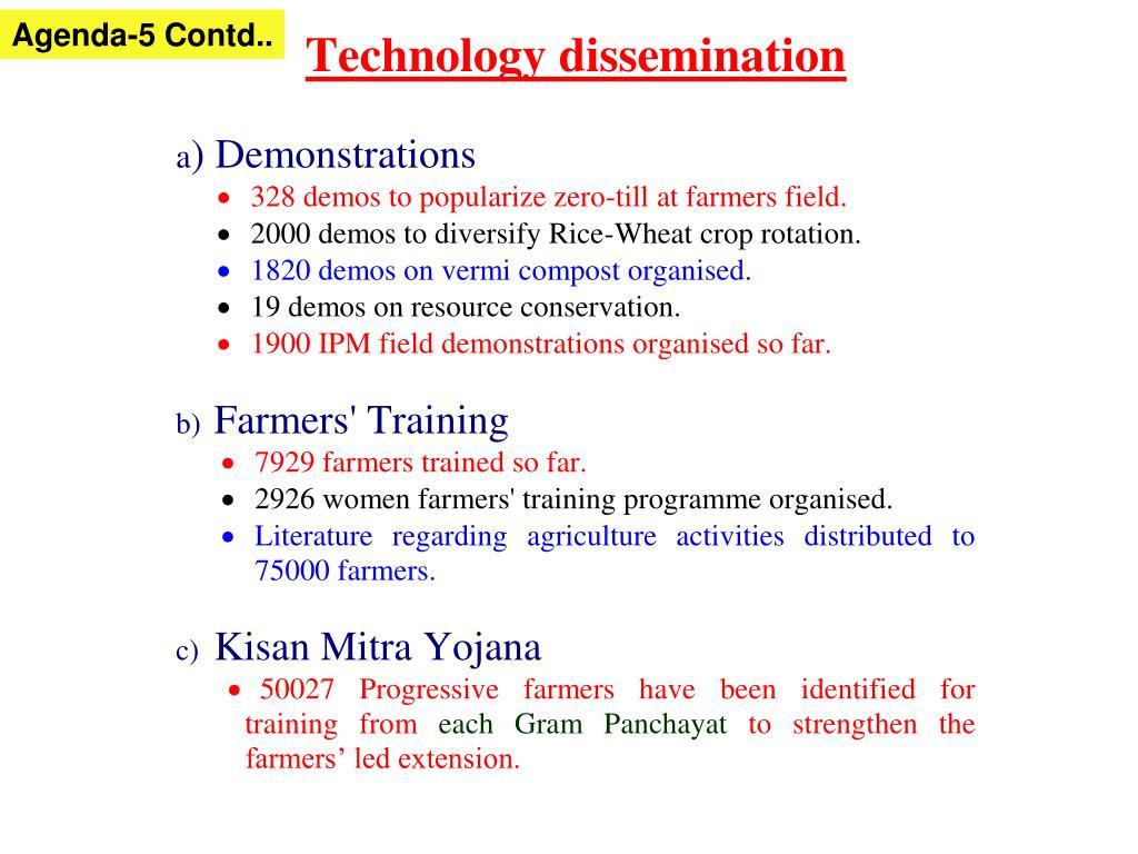 Agenda-5 Contd..