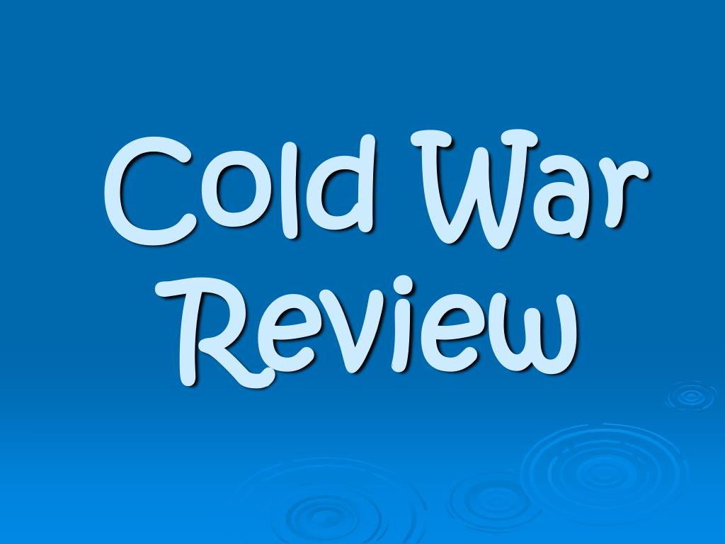 cold war review l.