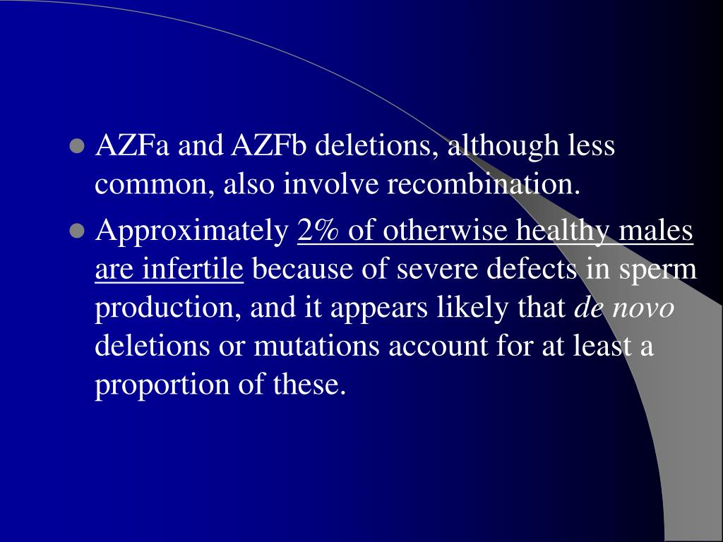 azfc deletion y-chromosome sex linked traits in Kitchener