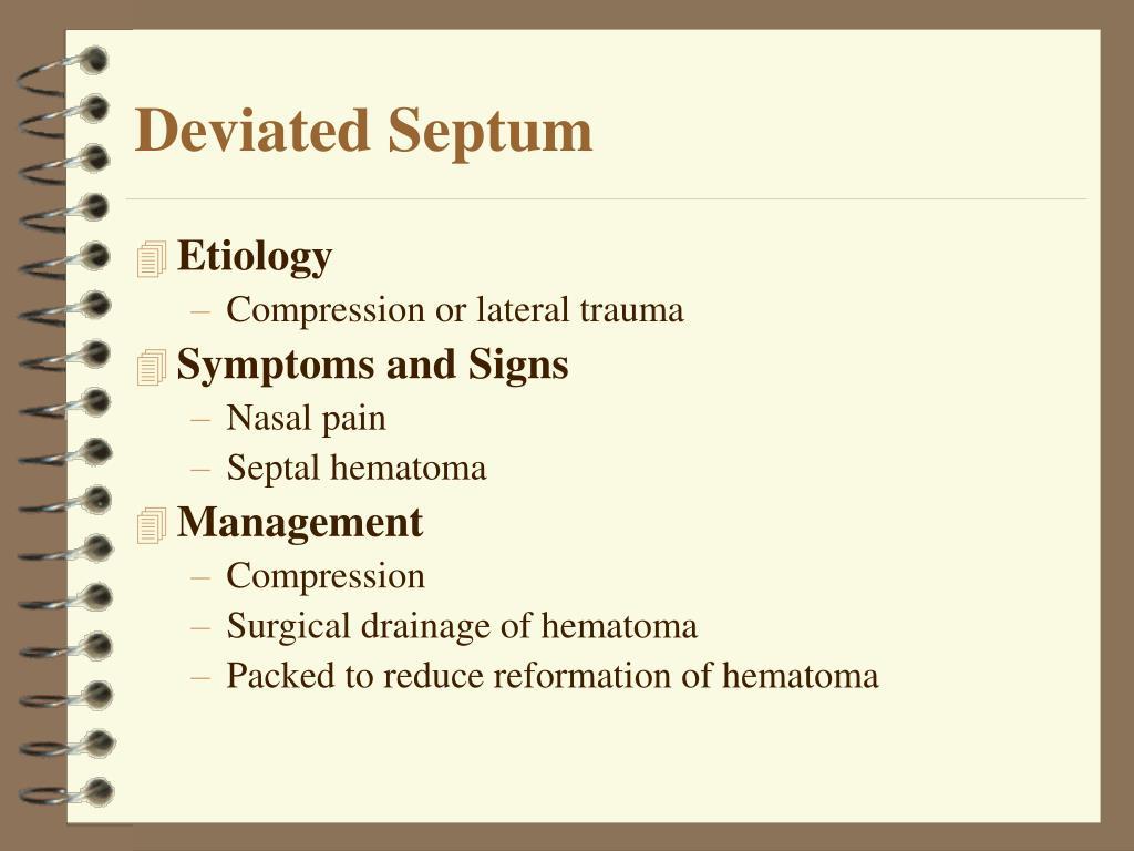 Deviated Septum