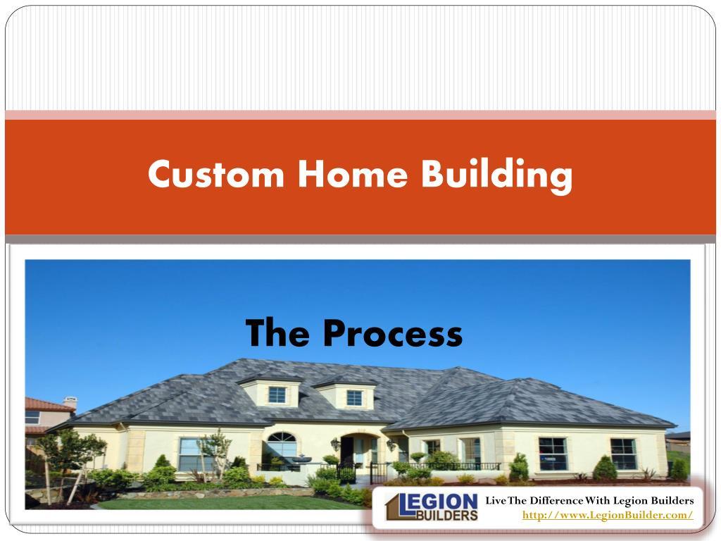 custom home building l.