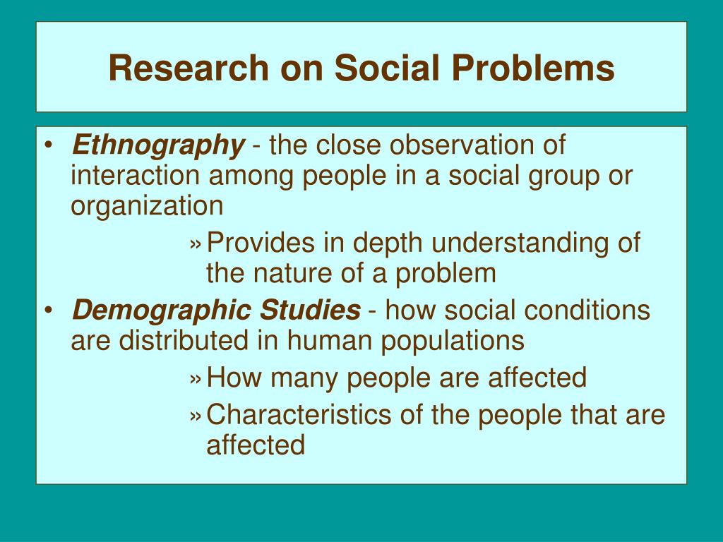 PPT - Sociological Perspectives on Social Problems
