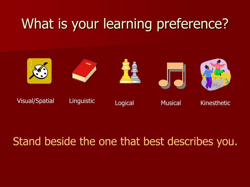 What is your learning preference?