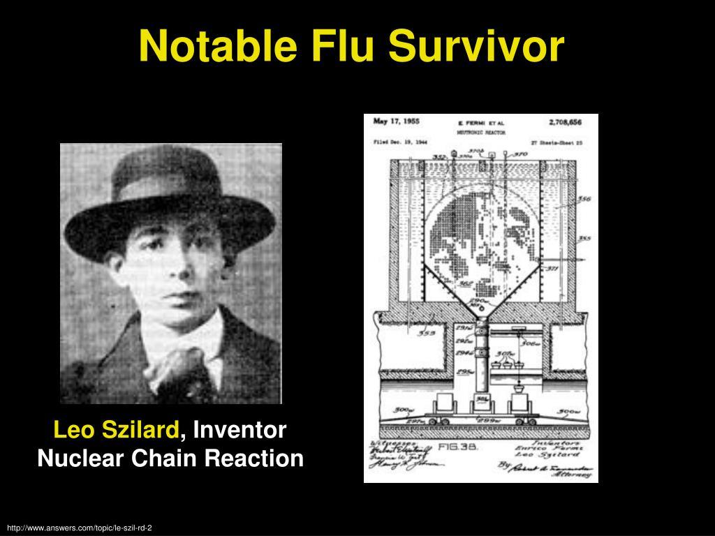 Notable Flu Survivor