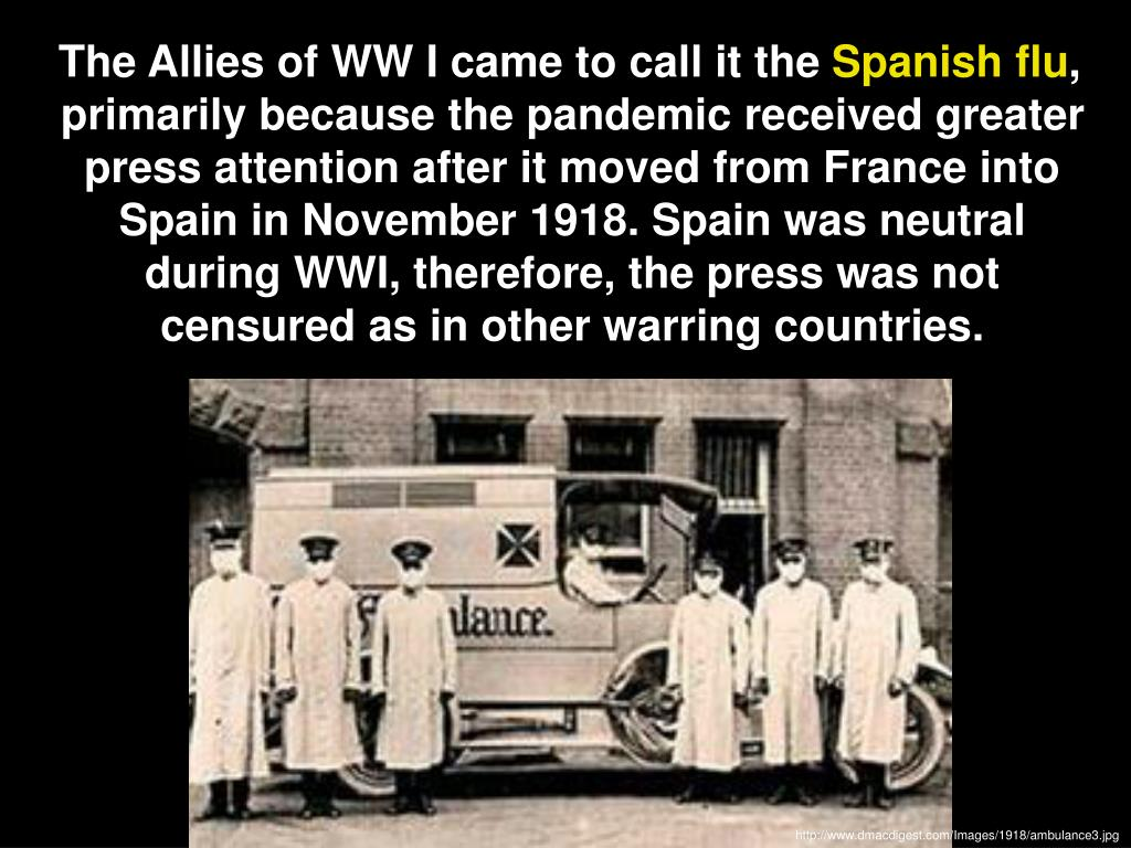The Allies of WW I came to call it the