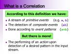 what is a correlation1