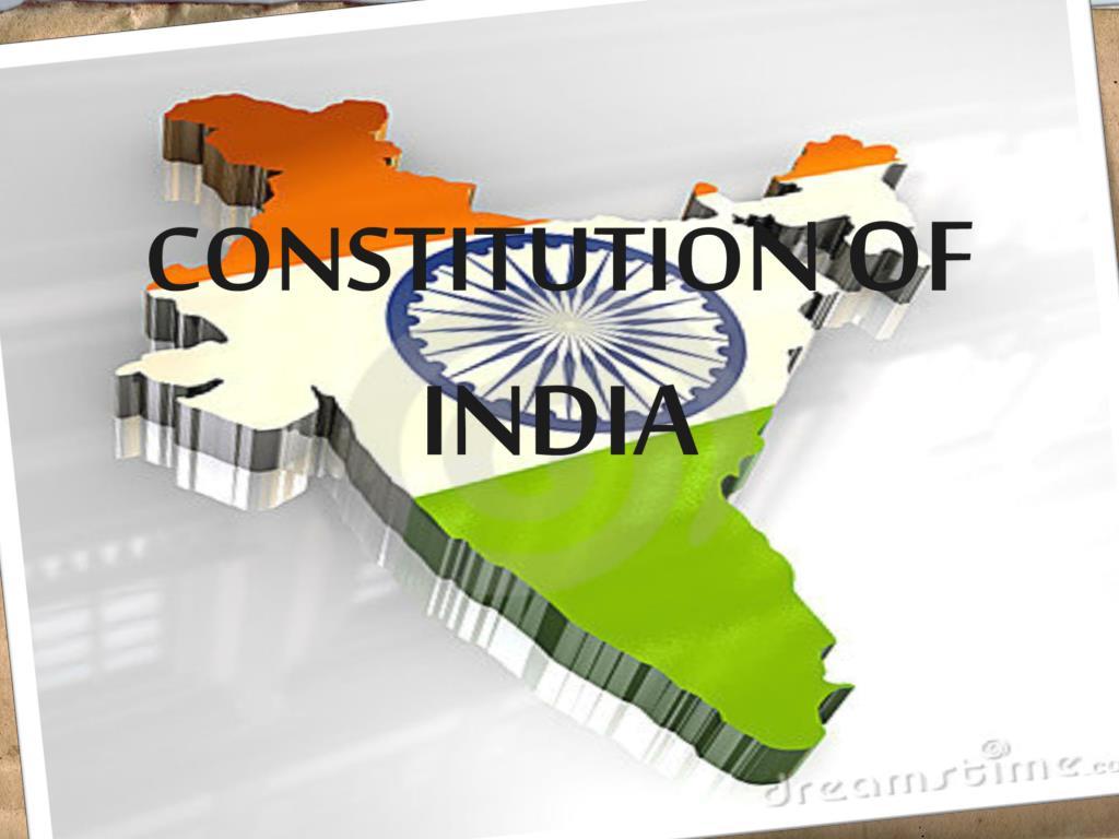 constitutio n of india l.